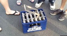WATCH: The Best Way To Open A Case Of Beer All At Once