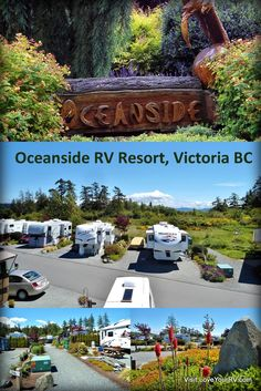After spending the winter RVing down south we headed back to Vancouver Island and picked a spot to stay for the summer.  This year we chose Oceanside RV Resort near Victoria BC.  We had stayed here for a week back when we started out as full timers. Full Review >>> http://loveyourrv.com/review-of-the-oceanside-rv-resort-near-victoria-bc/