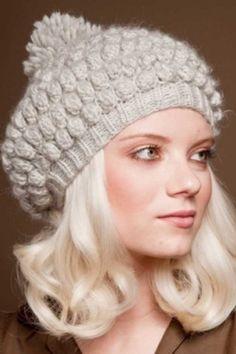 Eugenia Kim Knit Aubrey Hat in Gray