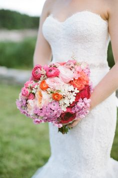 Colorful and chic: http://www.stylemepretty.com/2015/07/16/30-bright-beautiful-bouquets-for-the-bold-bride/