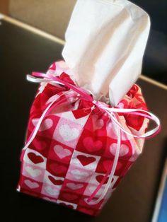 Valentine's Day tissue box cover! /