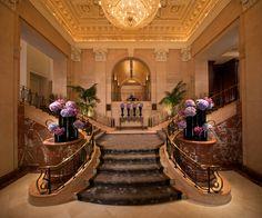 Beautiful Lobby At The Peninsula New York Fsagiveaway Nyc Hotels And Resorts