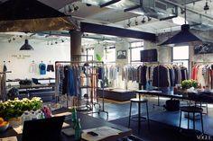 #ragandbone #marcus wainwright #davidneville Rag & Bone's Workspace in the Meatpacking District Vogue