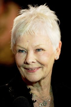 Judi Dench, such a lovely gentle face; still beautiful after all these years, without any artificial aids!
