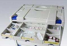 TANOS - Système complet de rangement utilisé par Festool par exemple