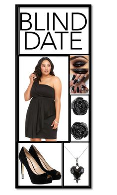 """Blind Date 💋"" by xxpiercetheabbeyxx ❤ liked on Polyvore featuring Torrid and GUESS"