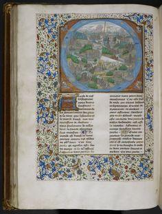 World Map ... Catalogue of Illuminated Manuscripts