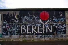 Graffiti from Berlin wall.