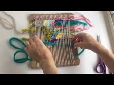 Weaving Techniques || Organic (Doodle) Weaving | The Weaving Loom
