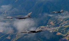 US bombers fly over South Korea for…