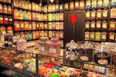 A revival in retro confectionery is proving a boon to a national chain of Victorian-style sweet shops, which is about to open its store in Manchester. Jars Of Sweets, Old Sweets, Retro Sweets, Milkshake Shop, Milkshakes, Retro Sweet Shop, Penny Sweets, Chocolates, British Sweets