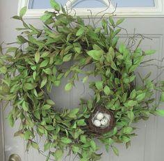 Boxwood wreath Front Door Wreaths Spring Wreaths wreaths by bndd, Wreath Crafts, Diy Wreath, Wreath Ideas, Spring Front Door Wreaths, Spring Wreaths, Spring Door, Easter Wreaths, Christmas Wreaths, Couronne Diy