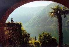 I just want a little cottage by the bay....is that so much to ask?? Lugano, Switzerland.