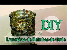 DIY: Luminária de Bolinhas de Gude (Fácil) #tododia05