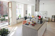 Kleine Wohnung: Ein Zweiraum-Apartment in Göteborg