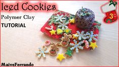 ced Cookies - Polymer Clay TUTORIAL