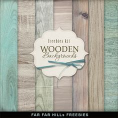 New Freebies Wooden Backgrounds - Far Far Hill