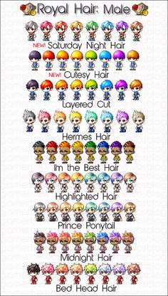 37 Maplestory Hairstyles Ideas Maple Story Character Creation Pixel Art Characters
