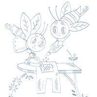 Careful bees