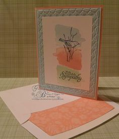 112 best stampin up sympathy cards images in 2019 condolences