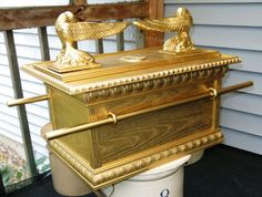 Raiding the Ark of the Covenant - The Ark of the Covenant, the holy box in which the smashed stone tablets of the original Ten Commandments were said to have been stored by Moses himself. It's a particularly interesting story, because unlike its fellow icon the Holy Grail the Ark of the Covenant may have been