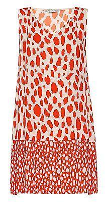 42, multi (fantasia arancio), Penny Black 40 Women's Madrid Dress NEW