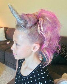 Crazy Hair Day Ideas For Girls & Boys Unicorn or my little pony hair for crazy hair day.Unicorn or my little pony hair for crazy hair day. Crazy Hair Day At School, Crazy Hair Days, Crazy Hair Day Girls, Crazy Hair For Kids, Crazy Girls, Girls Life, Little Girl Hairstyles, Cool Hairstyles, Hairstyle Ideas