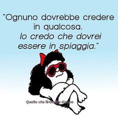 #buongiorno #goodmorning #mafalda #frasitop #frasibelle #civorrebbe #unpodirelax #relax #sun #sunset #summer16 #summerfun by lady_momo07