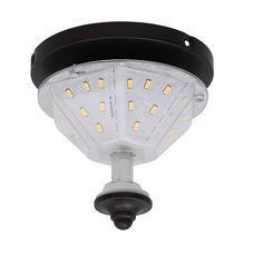 Fanimation F3 LED Fitter Light Kit for the Distinction Fan Dark Bronze Ceiling Fan Accessories Light Kits Fitters