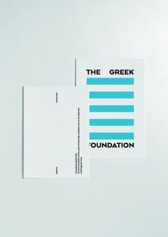 The Greek Foundation logo by Beetroot - The Greek Foundation