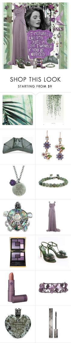 """I wonder if you've noticed"" by julyralewis ❤ liked on Polyvore featuring Urban Nature Culture, Once Upon a Time, Betsey Johnson, Disney, Alberta Ferretti, Yves Saint Laurent, John Richmond, Lipstick Queen, Vera Wang and Burberry"