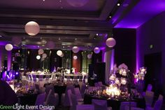 W Hotel.  Lighting by Green Light Event  Design (Seattle).