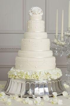 Peggy Porschen Iced Wedding Cake Collection - Tiffany Pearl