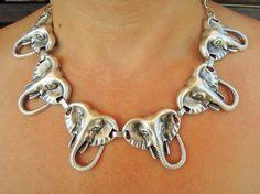 Statement Necklace Bib necklace Bib Statement by ebrukjewelry