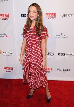 Alicia Vikander | BAFTA Los Angeles Awards Season Tea, January 2016.