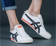 Asics Shoes, Men's Shoes, Shoes Sneakers, Onitsuka Tiger Women Outfit, Tiger Shoes, Sneaker Games, Workout Shoes, Leather High Tops, Urban Outfits