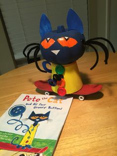 Pumpkin book characters pete the cat