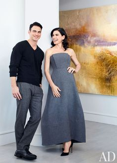 Another amazing dress on Julianna Margulies