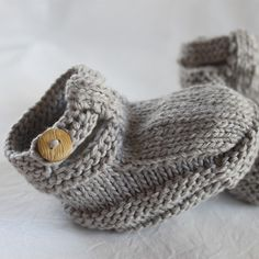 Funky Husky Grey Booties | fawn and milk