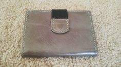 Men Trifold Wallet Credit Card Holder Hand Made Genuine Leather Purse W/ Snap