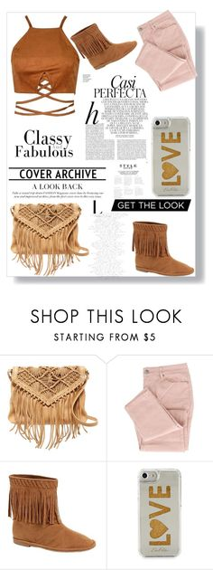 """""""The Brown Purse"""" by ursulachenui on Polyvore featuring Day & Mood, Edie Parker and Whiteley"""