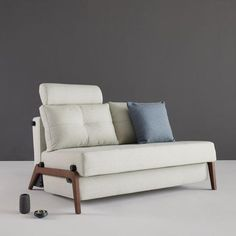 A comfortable Sofa Bed. Our editors put together a list of the most premium sofa beds you've ever seen. Sofa Bed Usa, Sofa Bed Wood, Small Living, Living Spaces, Sofa Bed For Small Spaces, Pull Out Sofa Bed, Small Apartment Bedrooms, Simple Sofa, Mid Century Modern Sofa