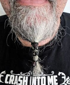 Beard lacer Black with Red Eyes Skull Beads Goatee Beard, Beard Art, Red Beard, Ginger Beard, Beard And Mustache Styles, Beard No Mustache, Hair And Beard Styles, Viking Beard Styles, Beard Accessories