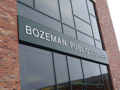 Bozeman Public Library Goes Mobile - At Home In Bozeman Real Estate