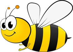 Cartoon Bee by in bee clipart transparent background collection - ClipartXtras Cartoon Bee, Cartoon Pics, Honey Bee Cartoon, Baby Bumble Bee Song, Bumble Bee Clipart, Bumble Bee Crafts, Bumble Bees, Animated Bee, Honey Bee Drawing