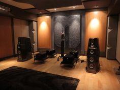 Von Schweikert listening room.
