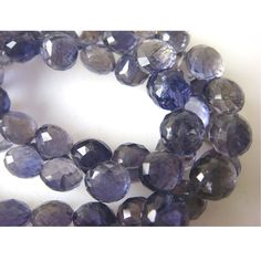 Iolite  Iolite Onion Briolettes  7x7mm To 9x9mm  by gemsforjewels, $34.10