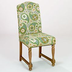 Green Paisley Walter Chair   Dining Room Furniture  Furniture   World Market