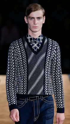 What a knit from Prada - Spring 2015