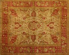 ABRAHAM RUG - an #Armenian #rug handcrafted of 100% wool. #TufenkianOutlet